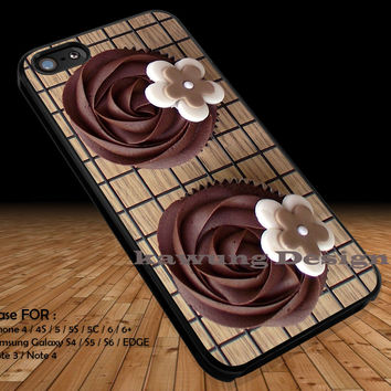 Chocolate Cupcake iPhone 6s 6 6s+ 5c 5s Cases Samsung Galaxy s5 s6 Edge+ NOTE 5 4 3 #art DOP2228