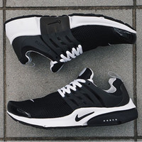 """NIKE"" Women Men Fashion Trending Leisure Running Sports Shoes Black"