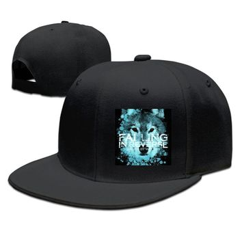 Falling In Reverse Raised By Wolves Album Cover Printing Unisex Adult Womens Baseball Hats Mens Snapback Caps