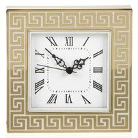 Greek Key Table Clock | Gifts for Her | Gifts | Z Gallerie