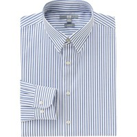 MEN EASY CARE STRETCH SLIM FIT STRIPED LONG SLEEVE SHIRT | UNIQLO