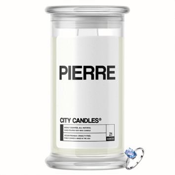 Pierre City Jewelry Candle