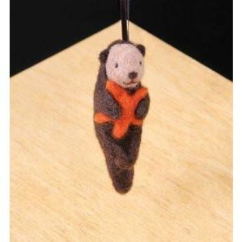 WoolPets Sea Otter Wool Needle Felting Craft Kit