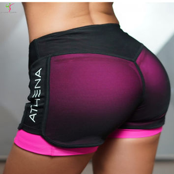 2017 New style Women Shorts Quick-drying Compression Shorts Casual Women Bottoms Sexy Female Fitness Bodybuilding GymShorts