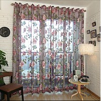 Window Sheer Curtains Panel, Bucharest