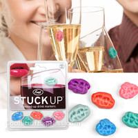 Stuck Up Gum Wine Markers