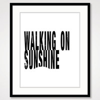 positive quote energy, black and white art, motivational wall decor, inspirational quote art life typographic, sunshine bedroom home decor