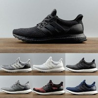 Ultra boost 3.0 Triple Black Men Running Shoes Oreo Triple white Black CNY Grey ultraboost Primeknit Women shoes sneakers size US 5-12