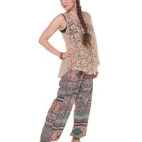 NEW! Bombay or Bust Harem Pant
