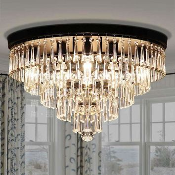 Modern Chandeliers,Crystal Pendant Lamp K9 Crystal Chandelier For Living Room dining room E14 Crystal lighting Led ceiling