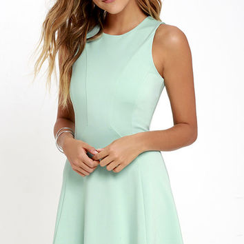 Black Swan Liana Mint Dress