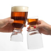 Beer Glass with Shot
