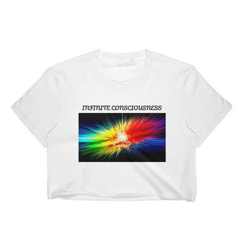 Infinite Consciousness Women's Crop Top