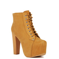 Jeffrey Campbell Lita in Wheat Nubuck