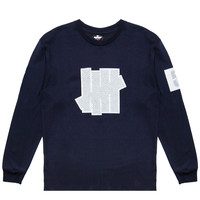 Undefeated - 5 Strike L/S Jersey (Navy)