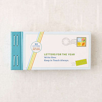 Letters For The Year By Lea Redmond | Urban Outfitters