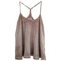 Strappy top ALL SAINTS Beige