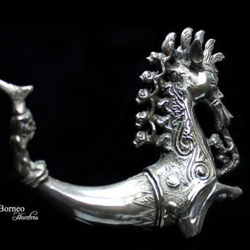 Naga Morsarang From Batak Indonesia Cast Mythological Creature Sea Serpent Five Riders On A Singa/Naga/Home Decor Mythical Sumatran Creature