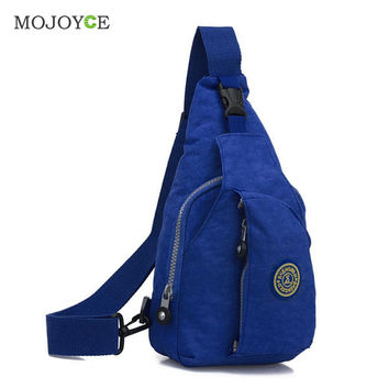 Fashion Women Chest Bag Packs Women Messenger Bags Small Shoulder Bag Casual Waterproof Nylon Travel Chest Bag Bolsa SN9