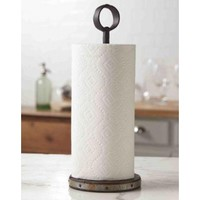 Rustic Paper Towel Holder | A Cottage in the City