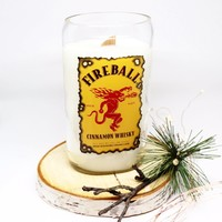 Fireball Whiskey Candle