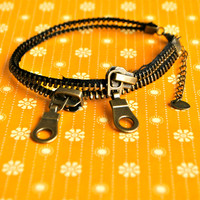 Quirky Zipper Anklet