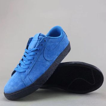Nike Sb Blazer Zoom Low Fashion Casual Low-Top Old Skool Shoes-2