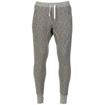 True Religion Grey Marl Jogging Sweatpants