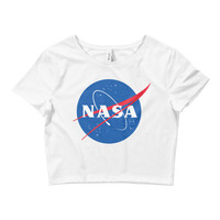 NASA Crop Top