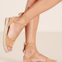 Therapy - Dauphin espadrilles in camel Produced By SHOWPO