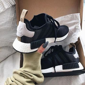 adidas nmd r1 boost women trending running sports shoes sneakers-1