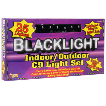 24' Blacklight String Lights