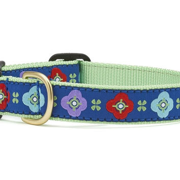 Celtic Rose Dog Collar