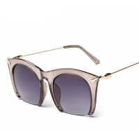 Dreamer Fashion Women Classic Semi-Rimless UV 400 Shades Sunglasses