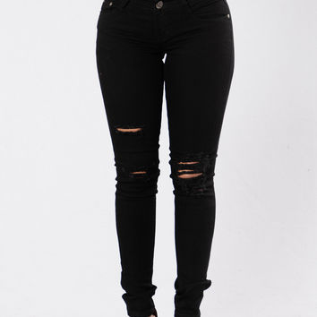 Shake That Thing Jeans - Black