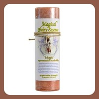 """""""Magic"""" Pillar Candle with Fairy Dust Necklace"""