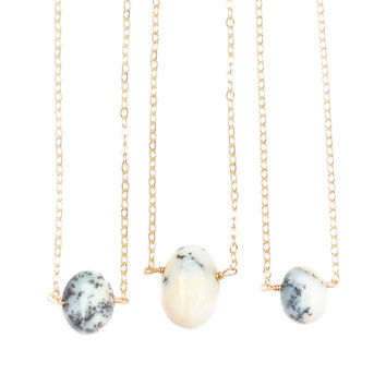 So into this design on Fab! Natural Marbled Opal Necklace #FabForAll