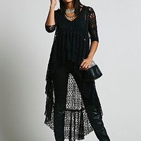 Free People Womens FP X Lace Emperor Maxi