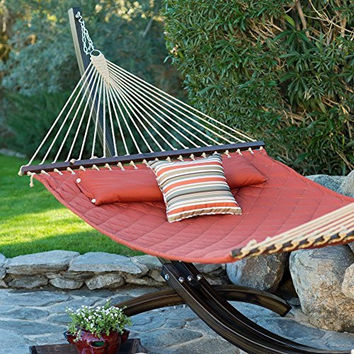 Island Bay 13 ft. Sienna Quilted Hammock