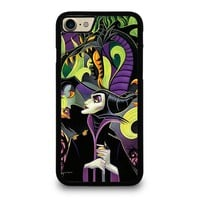 MALEFICENT'S DISNEY ART iPhone 4/4S 5/5S/SE 5C 6/6S 7 8 Plus X Case