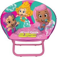 Nickelodeon Bubble Guppies Toddler Saucer Chair - Walmart.com