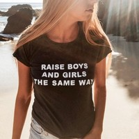 MASON BOYS AND GIRLS TOP
