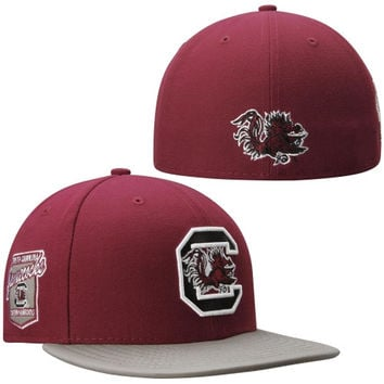 South Carolina Gamecocks New Era Side Filler 59FIFTY Fitted Hat – Garnet