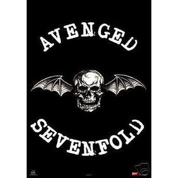 (22x34) Avenged Sevenfold (Winged Skull) Music Poster Print