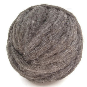 Cormo Roving, Natural Brown/Gray, Spinning Fiber