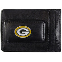Green Bay Packers Leather Cash & Cardholder FLMC115