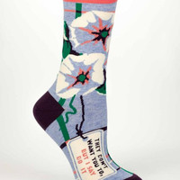 I Say Do It Women's Socks