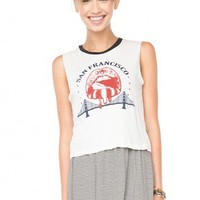 Brandy ♥ Melville |  Agathe San Francisco Tank - Just In