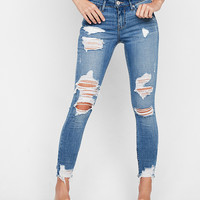 Petite Mid Rise Stretch+ Performance Ankle Jean Leggings
