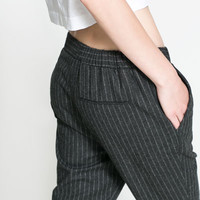 PINSTRIPE TROUSERS - TRF - NEW THIS WEEK | ZARA United States